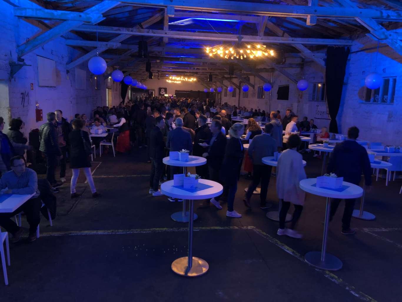 Mit über 500 Teilnehmern war die Tagung der IKK classic ein voller Erfolg. Die Organisation und Realisierung des Events erfolgte dank der professionellen Arbeit von spoon.projekt aus Erfurt.